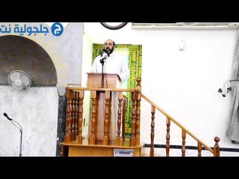خطبة ومسيرة العيد من مسجد البخاري في جلجولية 4/10/14 -