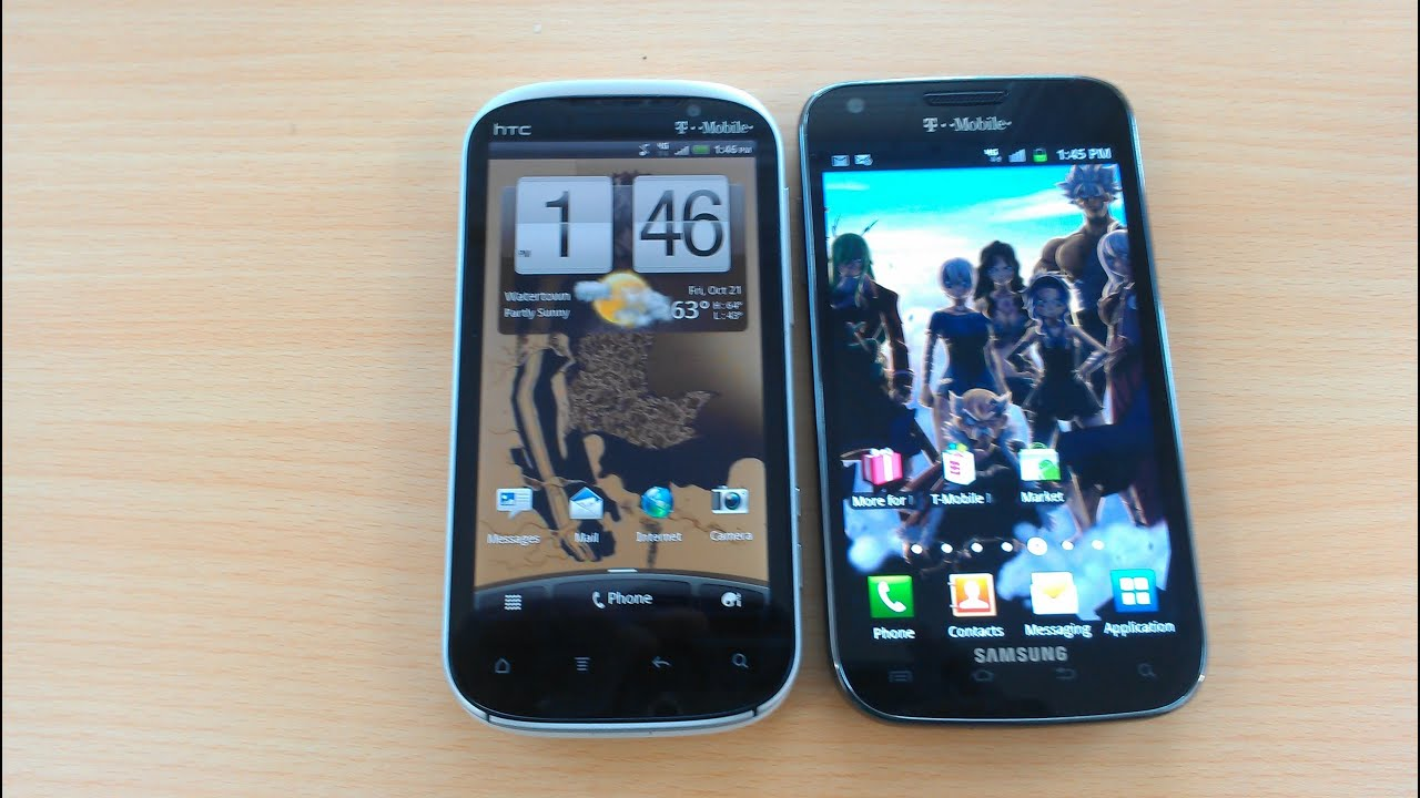 Best Smartphone On T-Mobile:HTC Amaze 4G vs. Samsung ...