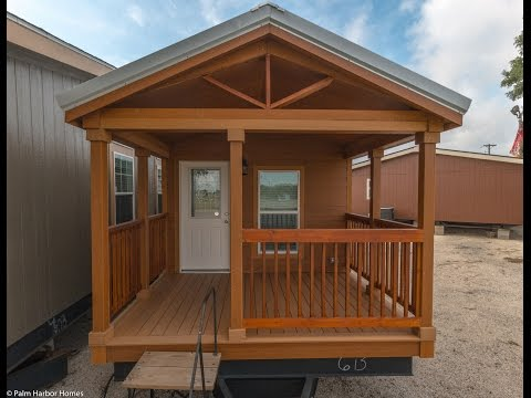 Watch Video of Palm Harbor in Seguin wants to GIVE YOU* a Tiny Home - - FREE*!