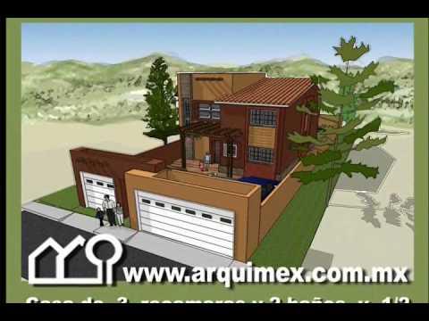 Planos De Casas Modelo San Leoncio 138 Arquimex Planos De