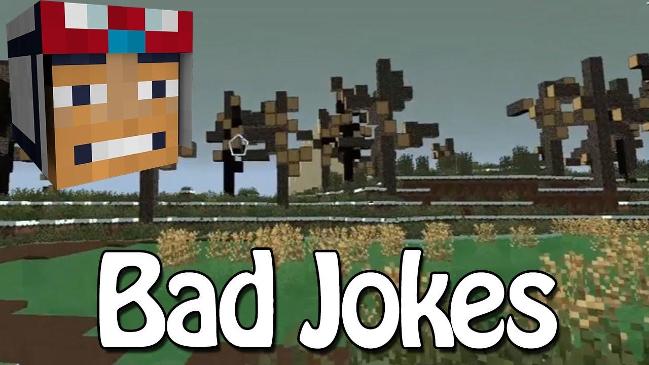 Minecraft race to the moon bad jokes 12 youtube