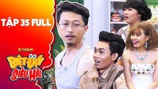 """Biệt đội siêu hài   Tập 35 full: Cẩm Hà, Lê Lộc """"đứng hình"""" trước mẫu quảng cáo của Hứa Minh Đạt"""