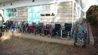 Raha International, Wheelchairs for all who need them.