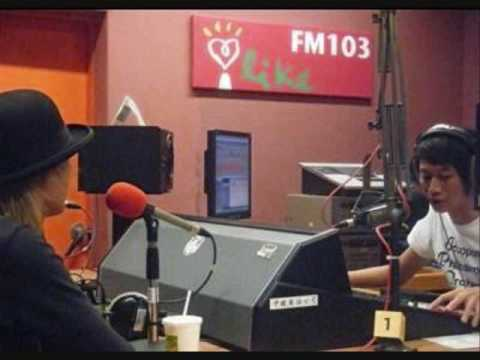D'ERLANGER 2009.07.24 IN TAIWAN RADIO part.1