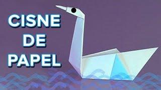Origami: Como hacer un cisne de papel