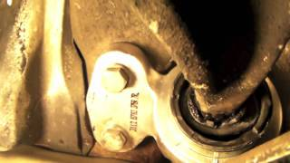 How To Replace Lower Control Arm Bushings On A BMW 325 Ci