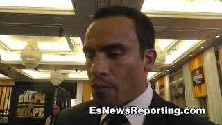 Juan Manuel Marquez On Pacquiao Vs Algieri