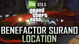 GTA 5 Benefactor Surano Location Epsilon Car