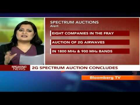Newsroom- 2G Auction Concludes