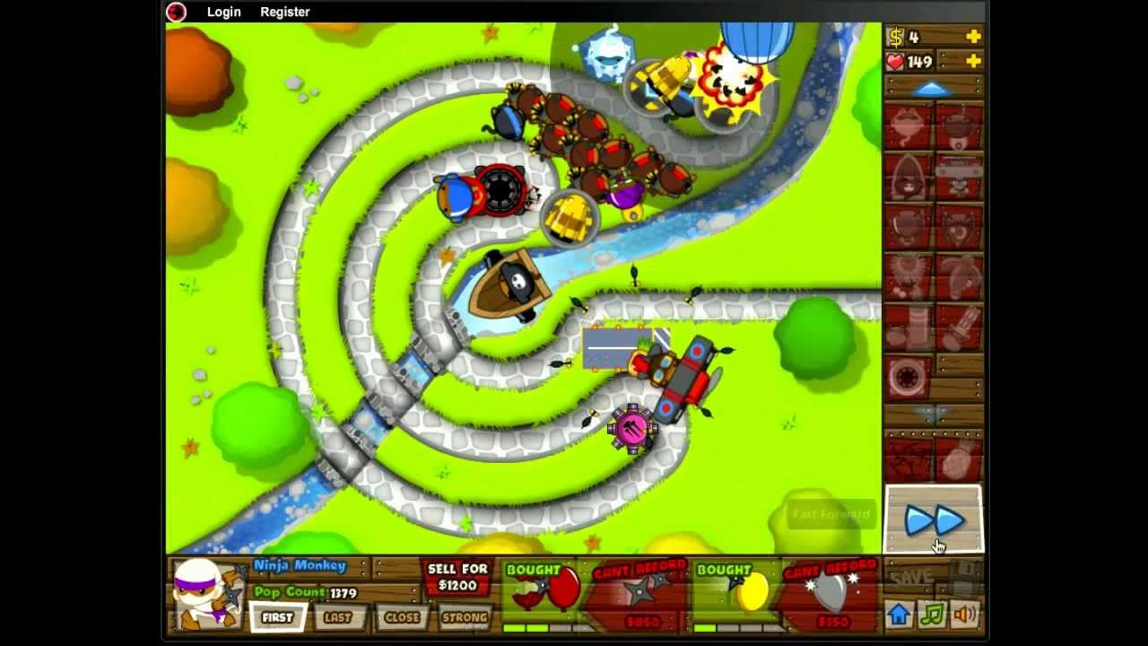 Bloons tower defense 5 playthrough with refresh troll youtube