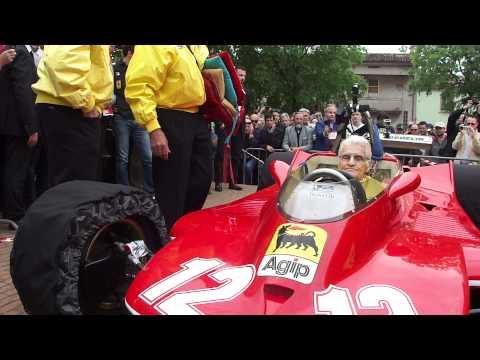 Gilles Villeneuve Ferrari T4 1979 a Castel d'Ario casa di Nuvolari coll. Jonathan Giacobazzi