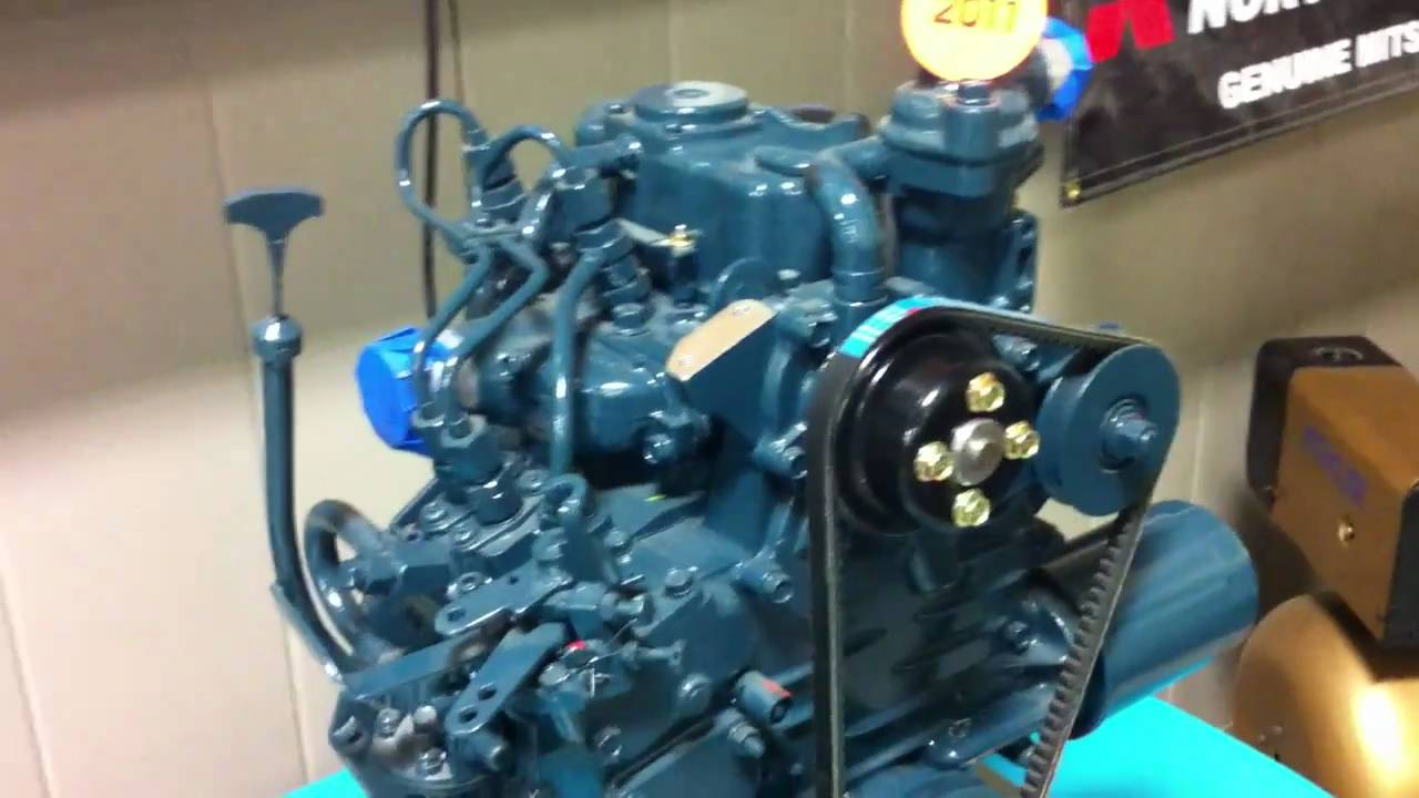 Smallest Kubota Diesel Engine Made