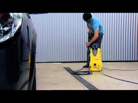 Limpieza de coche con agua a presión KARCHER por Generthec