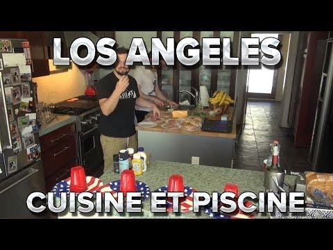 Los Angeles #6 : Cuisine et piscine