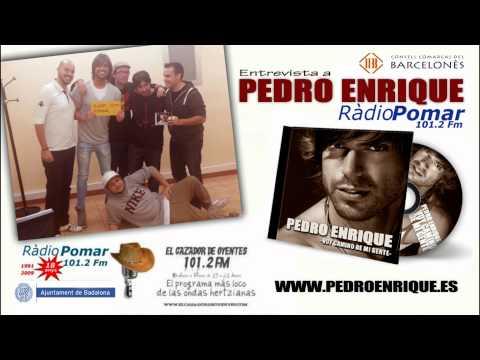 PEDRO ENRIQUE - Entrevista a PEDRO ENRIQUE en RADIO POMAR 101.2 FM BARCELONA