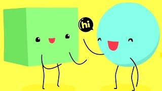 Hi: Animated Emoticon Love Story