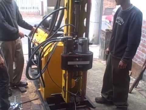 Test Maquina de Perforación H-08 2011