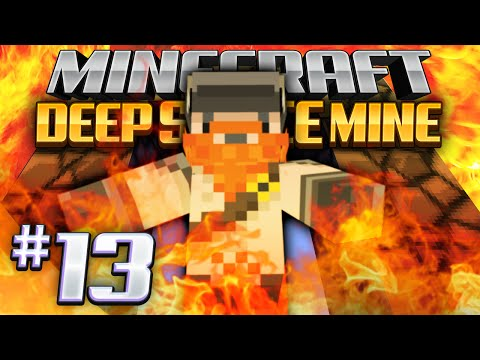 Minecraft - Deep Space Mine 13 - Lava Portal