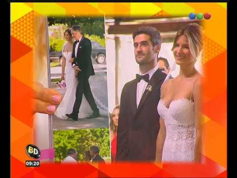 La intimidad del casamiento de Marcela Kloosterboer - Telefe Noticias