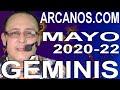 Video Horóscopo Semanal GÉMINIS  del 24 al 30 Mayo 2020 (Semana 2020-22) (Lectura del Tarot)