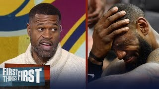 Stephen Jackson on LeBron James and the Cavs' loss to the Indiana Pacers | FIRST THINGS FIRST
