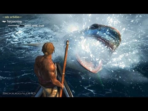 Assassins Creed 4 Black Flag:Harponing and Hunting Humpback Whale