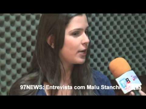 97NEWS entrevista a atriz Malu Stanchi