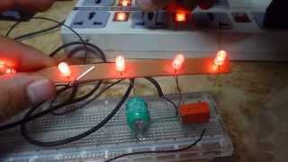 Como hacer una luz de emergencia cacera con cargador de celular