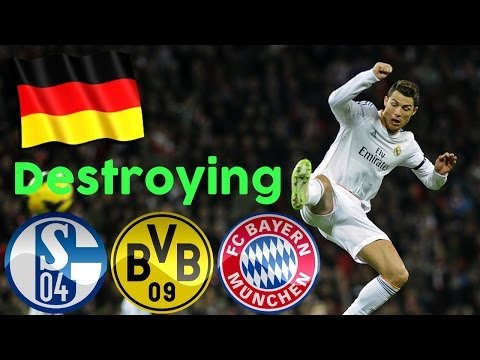 Cristiano Ronaldo Destroying German Teams ● All Goals 2014 ||HD||