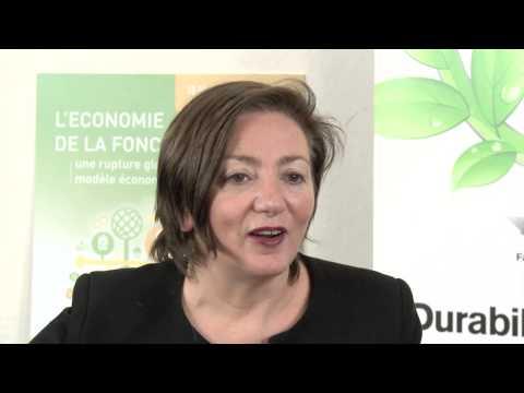 Conférence internationale - L'économie de la fonctionnalité: Anne de Béthencourt