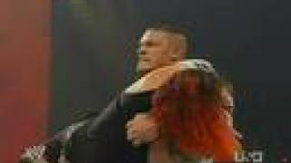 WWE RAW Jeff Hardy Vs John Cena Part 2