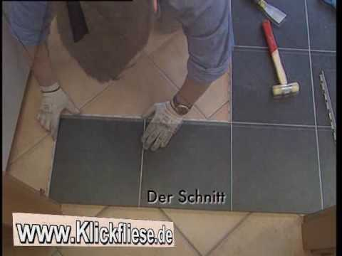 klickfliese das innovative verlegesystem youtube. Black Bedroom Furniture Sets. Home Design Ideas
