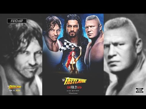 WWE: PPV Fast Lane 2016 Official Theme Song | #WHChaMP