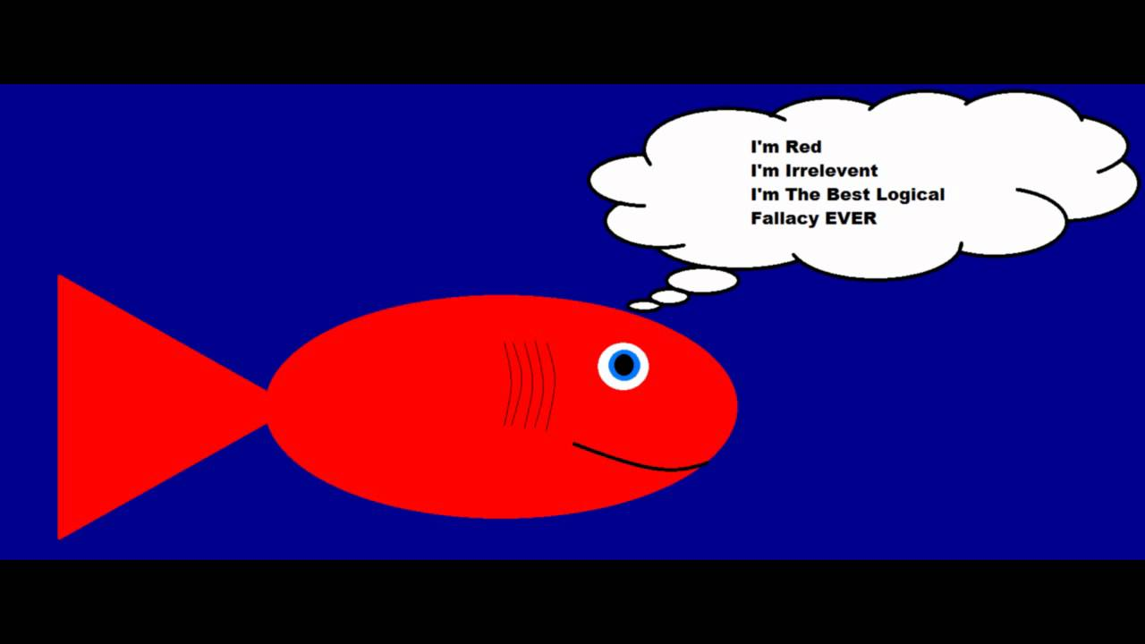 Logical Fallacies 1 Genetic Fallacy And Red Herring Youtube