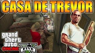 GTA V Online Truco Entrar A Casa De Trevor (chabola