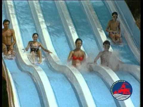 Parco acquatico le caravelle youtube for Caravelle piscine