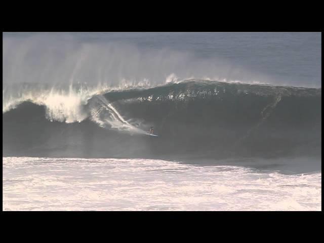 Greg Long at Puerto Escondido 2 - 2014 Ride of the Year Entry - Billabong XXL Big Wave Awards