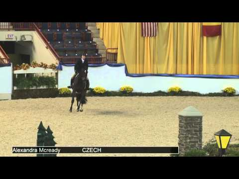 908 CZECH Alexandra Mcready, Class 230 NAL Children's Hunter Finals
