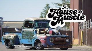 Chuckles Garage: 1949 Ford F1 - The House Of Muscle Ep. 10. MotorTrend.