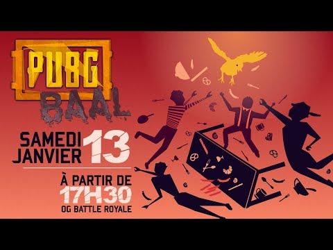 FRANCE vs ALLEMAGNE à 50vs50 sur PUBG !