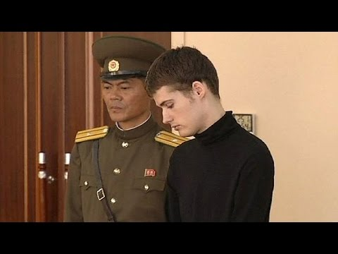 Young American sentenced to six-years hard labour in North Korea