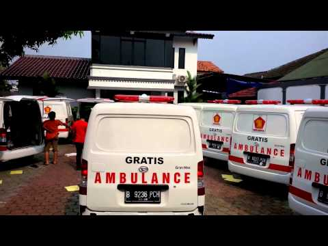 Installation 20 Ambulance Gerindra