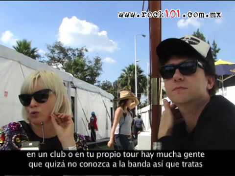 The Raveonettes en entrevista para Rock101.com.mx