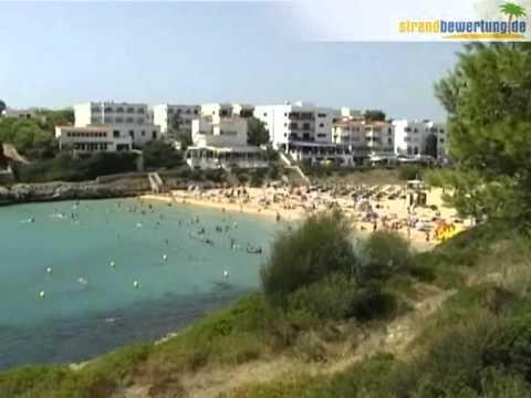 Mallorca - Cala Marcal - Porto Colom - Spanien - YouTube