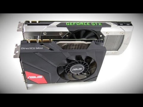 Most Powerful Compact Video Card? ASUS GTX 670 DirectCU Mini Hands-on!