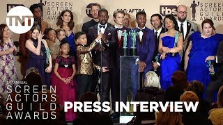 This Is Us: Press Room Q&A | 24th Annual SAG Awards | TNT