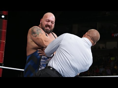 Big Show knocks out Triple H: Raw, October 7, 2013