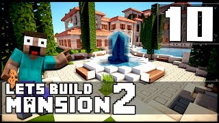 Minecraft: How To Make a Mansion - Part 10 - Horse Stables!