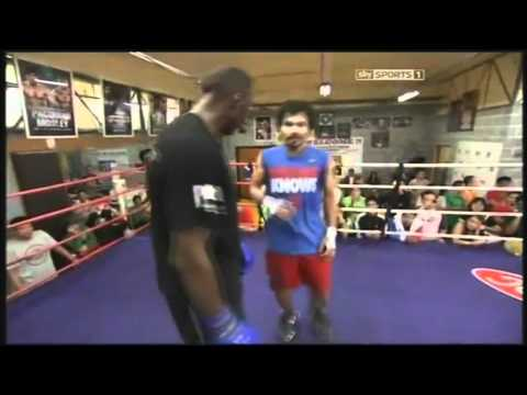 Manny Pacquiao vs Timothy Bradley - Freddie Roach shows game plan - Part 2