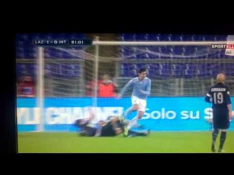 Lazio - Inter 1-0 Miroslav Klose Goal!